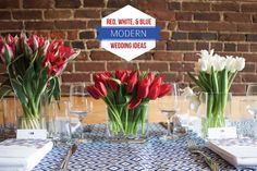 Red, White, and Blue Mod Party Ideas. Roey Mizrahi Events