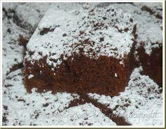 Le Ricette della Nonna: Brownies vegan al cacao e yogurt con composta di p...