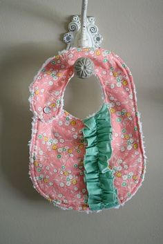 DIY bibs. Adorable!