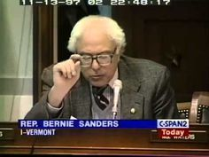 Pls RP: #YouTubeBERNS Bernie Sanders to Greenspan Rubin and Summers: Your Bailouts Are Illegal (11/13/1997)