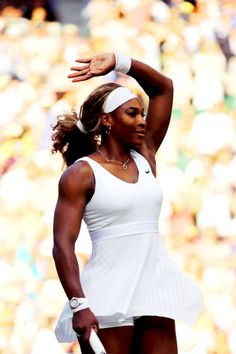 Serena Williams - Wimbledon 2014 @JugamosTenis