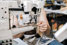 Most people are stunned when they learn how many types of sewing machines there actually are. But once you know what each type was designed to do, it's a lot less overwhelming. Sewing Machines, Industrial, Type, Amazing, People, Design, Industrial Music, People Illustration, Folk