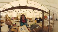 Experiencia 360 - Llegada a un campo de refugiados