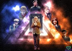Doctor's Friends by vvjosephvv on DeviantArt 13th Doctor, Doctor Who, Jon Pertwee, Police Box, Television Program, Time Lords, Dr Who, Tardis, Science Fiction