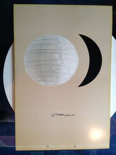 Isamu Noguchi Poster Akari Light Sculptures 1979 Exhibition