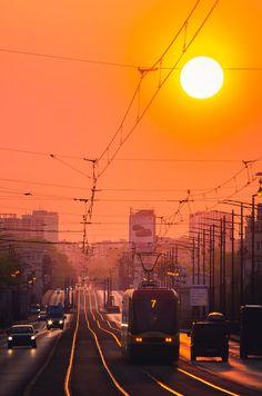 Warszawa Poniatowski - plakat premium City Wallpaper, Warsaw, Dream Big, Train, Architecture, Places, Nature, Paintings, Dreams