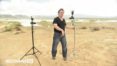 Exclusively on #AdoramaTV: Joe McNally discusses the pros and cons of using c-stands and straight stands in the field. #photography