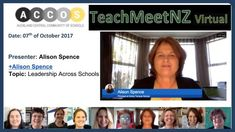 TeachMeetNZ - Spence_Alison School Date, Video Link, Leadership, Presentation, Dating, Learning, Quotes, Studying, Teaching