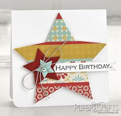 @Michelle Woerner from Die Cutting for Paper Crafters published by Paper Crafts magazine.