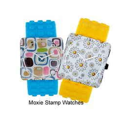 Have a little fun going back to school.  Who can resist a cute Moxie stamp watch in assorted colors!?  At $19.95 you can afford them all, too!