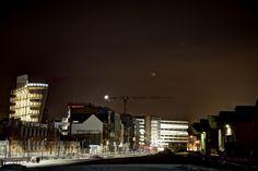 Antwerpen skyline - HDR techniek