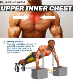 Gym Workout: Best 5 Exercises To Build The Upper Chest Inner Chest Workout, Chest Workout For Men, Chest Workouts, Fun Workouts, At Home Workouts, Sixpack Workout, Calisthenics Workout, Fitness Motivation, Weight Training Workouts