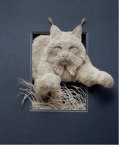 Escultura de papel   Tumblr