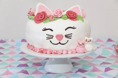 Catcake. Made for my daughters 2nd birthday. She loves cats.