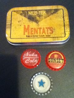 I'm going to make an old altoids tin into a mentors container, yessss