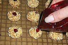 Jewel Cookies. Made on Christmas 2010. Perfect combination of nuts and jam.