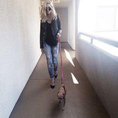 Amanda Steele @makeupbymandy24 let's go lil pup ...Instagram photo | Websta (Webstagram)