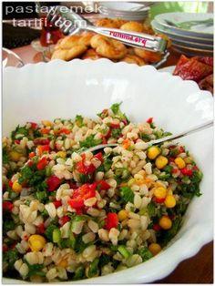 Buğday Salatası Tarifi Pratik Salata Tarifleri resimli yemek tarifi, Çeşitli resimli tarifleri