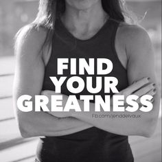 PIN this if you need to find and remind yourself of your greatness! Somehow we've come to believe that greatness is only for the chosen few, for the superstars. The truth is, greatness is for us all. This is NOT about lowering expectations; it's about RAISING them for every last one of us. Greatness is not in one special place, and it's not in one special person. Greatness is wherever somebody is trying to find it
