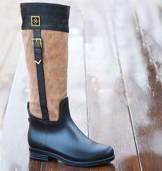 20f63340684d Dav Rain Boots- Riding Boot
