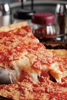 BEST PIZZA IN ILLINOIS: LOU MALNATI'S PIZZERIA  The gold standard of deep-dish pizza has been going strong in Chicago since 1971. Best of all, Lou's ships its pies all over the U.S., so you don't even have to be in the Windy City to get your fix.   45 locations throughout Illinois; 312-786-1000 or loumalnatis.com