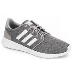 best service 6c795 dd205 Adidas Womens Cloudfoam Qt Racer - Dark Grey. Adidas Running ShoesGray ...