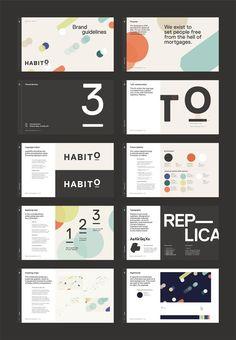 Design presentation layout logos ideas for 2019 Design Food, Graphisches Design, Book Design, Slide Design, Layout Design, Cover Design, Logo And Identity, Identity Design, Visual Identity