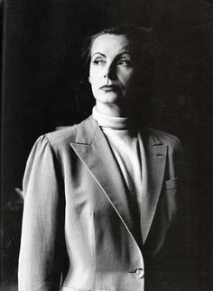 """A rare photo of Greta Garbo at 41 by Cecil Beaton. The actress was famous for her radiant beauty, her relatively early retirement from film, and the reclusiveness that marked the rest of her life.   Reportedly fearful about the onslaught of age — """"Time leaves traces on our small faces and bodies. It's not the same anymore, being able to pull it off"""" — she repeatedly refused Beaton's requests to sit for a portrait until she was forced to for need of a passport photo."""
