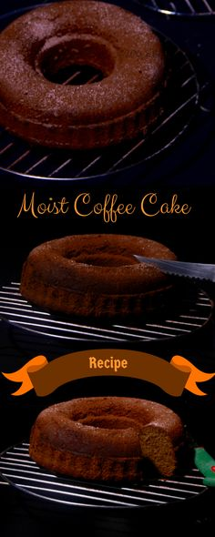 Moist Coffee Cake A recipe for soft & moist coffee cake . Serve it during tea time or as a dessert with an icecream