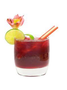 Red Hot Summer:  ¾ c. red wine  ¼ c. lemon-lime soda  Ice  Garnish: lime wheel