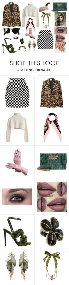 """""""&"""" by ohbabyimrachel ❤ liked on Polyvore featuring Frame, Dolce&Gabbana, Aspinal of London, Gucci, Marco de Vincenzo, Chanel, Niin, Dsquared2 and Zoe Coste"""