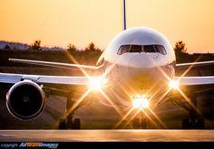 Night flight - Boeing 767-34AF/ER