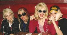 with Jennifer Finch and Selene and Elizabeth of 7 Year Bitch in 1993