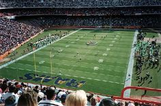 St Louis Rams (Formerly Cleveland Rams & Los Angeles Rams) - Anaheim Stadium - ''The Big A'' - Capacity: 69,008 - 1980 to 1994 - (Stadium Formerly Named Anaheim Stadium 1964 to 1997, Edison International Field of Anaheim 1998 to 2003 & Angel Stadium of Anaheim 2003 to Present)