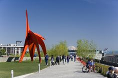 Olympic Sculpture Park Seattle Art Museum, WERK | Charles Anderson Landscape Architecture