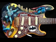 custom superhero guitar >.<