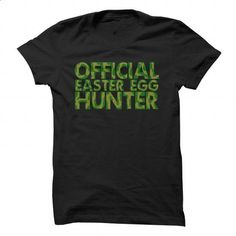 Official Easter Egg Hunter - #design tshirt #dc hoodies. I WANT THIS => https://www.sunfrog.com/Holidays/Official-Easter-Egg-Hunter.html?60505