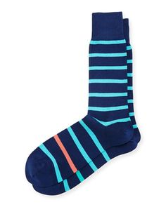 Simple+Neon+Striped+Socks+by+Paul+Smith+at+Neiman+Marcus.