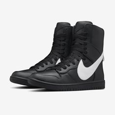 new product 4c77f 64df7 A Closer Look at the Riccardo Tisci x NikeLab Dunk Lux High  The Givenchy  designer reimagines the iconic high-top.