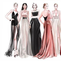 Fashion Illustration 500 Articles And Images Curated On Pinterest Fashion Illustration Fashion Sketches Fashion Drawing