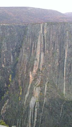 Black Canyon of The Gunnison cliff face
