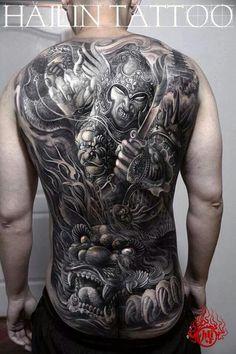 Awesome work by Hailin Fu