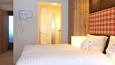 Easy, to sleep tight in this Luxuy Designer Bed Austrian Village, Sleep Tight, Studio Design, Apartment Design, Bed Design, Lodges, Mountain, Bathroom, Luxury