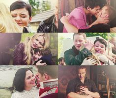 Once Upon A Time: Snow, Charming, Emma, & Henry