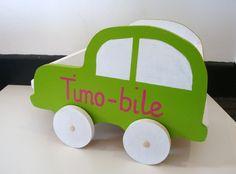 Alice Balice DIY - voiturette en bois