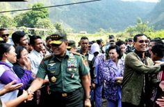 Panglima TNI Blusukan di Haranggaol