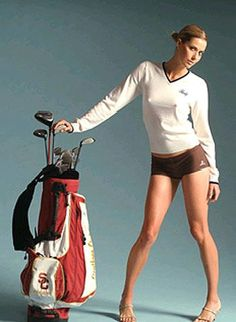 Anna Rawson is an Aussie, an LPGA golfer and professional model. She turned pro-golfer in late and began modeling at age In December 2007 she joined the LPGA tour and in 2008 qualified for a full-time tour card. OK, so nothing about the golf bag? Sexy Golf, Girls Golf, Ladies Golf, Yoga For Golfers, Lpga Golf, Only Shorts, Discount Golf, Golf Lessons, Female Athletes