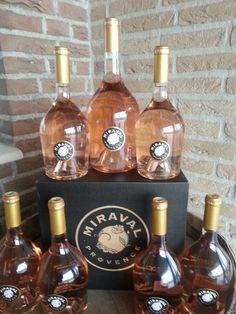 lots of beautiful #Miraval Rosé #wine