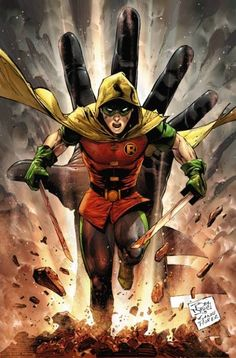 Robin by Tony Daniel and Tomeu Morey *