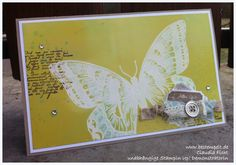 Stampin Up Spring  Swallowtail Card
